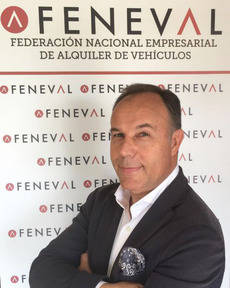 El nuevo presidente de Feneval, Juan Luis Barahona.