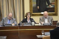 La secretaria de Estado de Turismo, Isabel Oliver, en el Congreso de los Diputados.