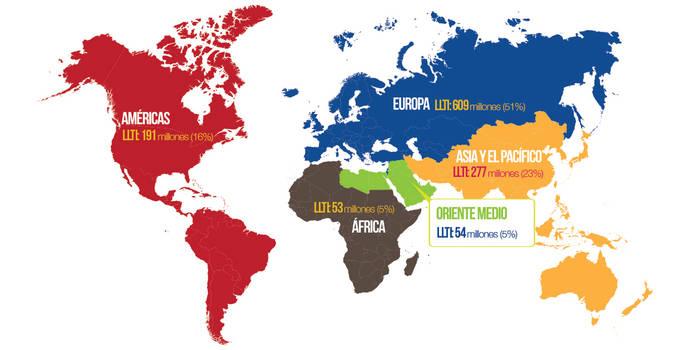El Turismo mundial crece un 4% en 2015 y roza los 1.200 millones de viajeros