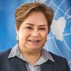 La secretaria ejecutiva de la ONU sobre Cambio Climático, Patricia Espinosa.