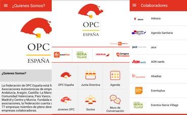 OPC España crea una aplicación para dispositivos móviles