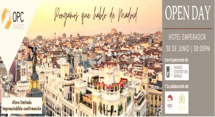 David Abreu, del OPC Day: 'Madrid demuestra que con seguridad, se puede'