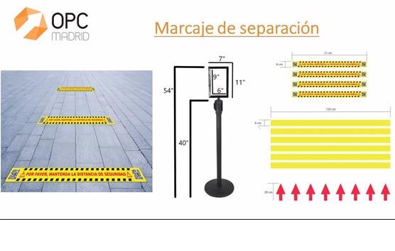 OPC Madrid presenta un manual de recomendaciones de eventos presenciales