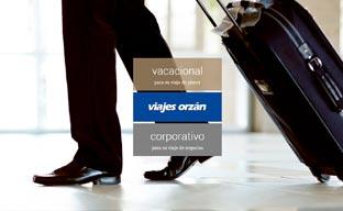 Viajes Orzán renueva su 'web' con una imagen actual
