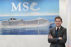 El director general de MSC Cruceros para España, Fernando Pacheco.