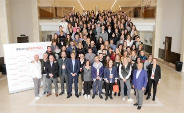 Pacífico celebra su convención con 150 empleados