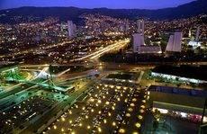 Panorámica de Medellín (Colombia).