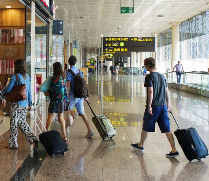 Los pagos por Turismo crecen un 13% hasta julio