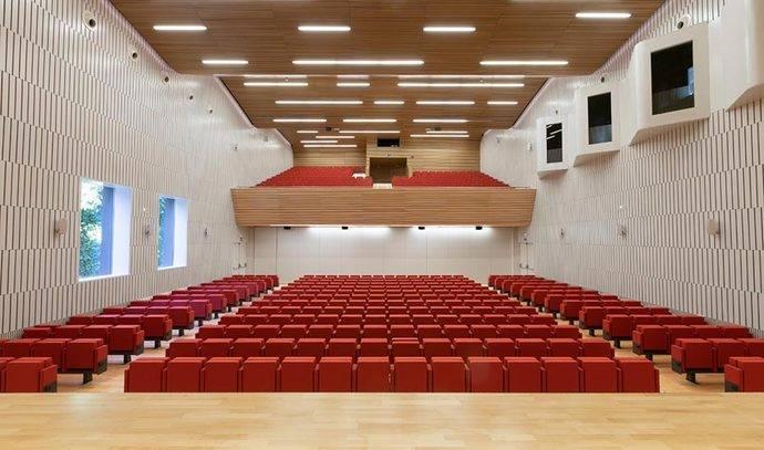 El auditorio del Palacio de Congresos de Córdoba.