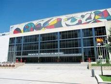 Fachada principal del Palacio de Congresos de Madrid.