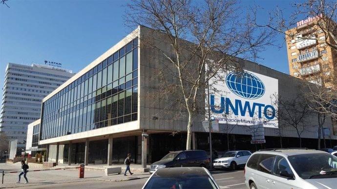 El edificio que ocupará la OMT en el Palacio de Congresos de Madrid.