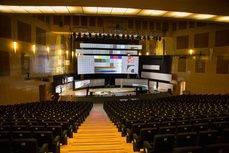El auditorio principal del Palacio Municipal de Congresos de Madrid.
