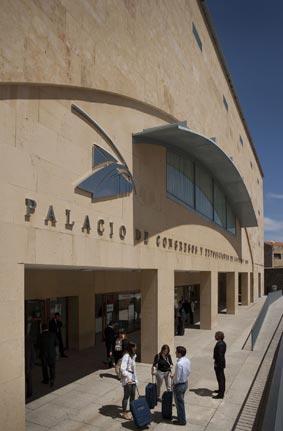 El Palacio de Congresos de Salamanca.