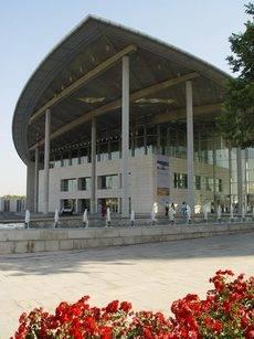 El Palacio de Congresos de Valencia.