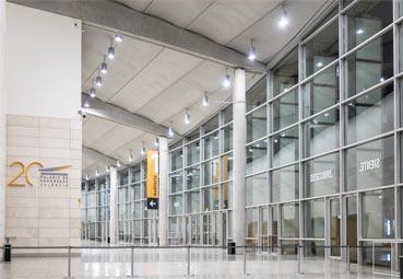 La iluminación del Palacio de Congresos de Valencia ya es LED