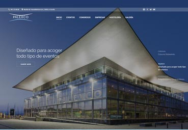 Palexco estrena una página 'web' más sencilla y visual