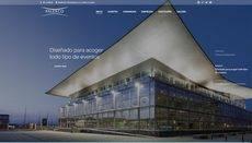 La nueva página 'web' de Palexco.