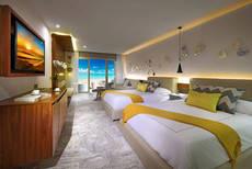 Interior de una habitación del Hotel Costa Mujeres.