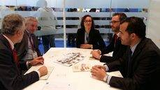 La reunión de los responsables municipales de Palma con el Institute of Travel & Tourisme.