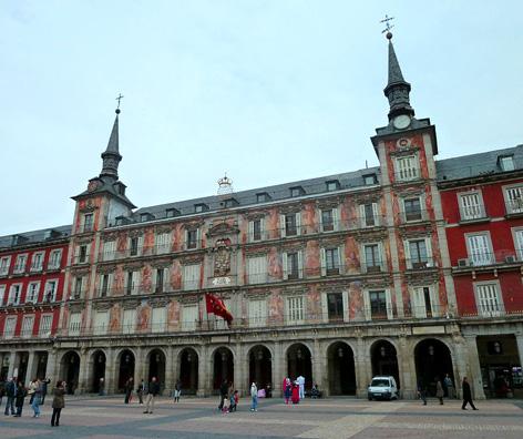 La casa de la Panadería, en Madrid, sede del encuentro.