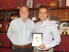 El consejero delegado del Grupo NEXO, Carlos Ortiz, y el CEO de Pangea, David Hernández.