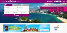 Imagen de la web www.viajesatodotren.com.