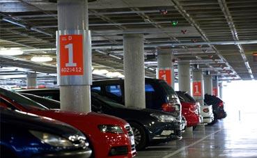 Los parkings Aena ofrecen descuentos con antelación