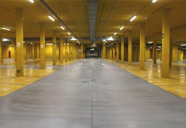 Abre el nuevo aparcamiento del Palacio Europa