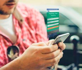 ParkVia permite la reserva previa de aparcamiento