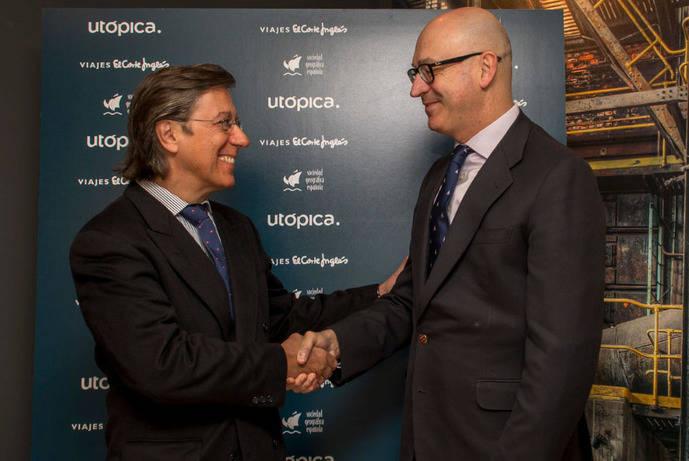 Utópica se alía con la Sociedad Geográfica Española