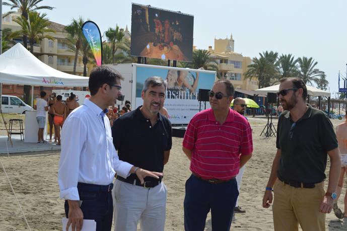 Andalucía estima haber fidelizado a unos 27.000 turistas en sus playas