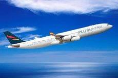 Un avión de Plus Ultra.