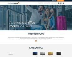 La página 'web' de Premier Plus.