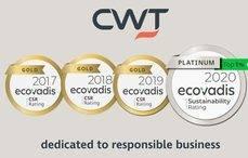 CWT recibe el estatus de Platino como empresa RSC