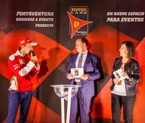PortAventura potencia su área de Eventos con el nuevo Ferrari Land