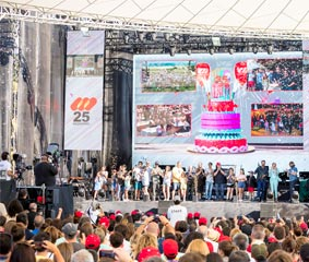 Mediapro elige a PortAventura para organizar su 25 aniversario