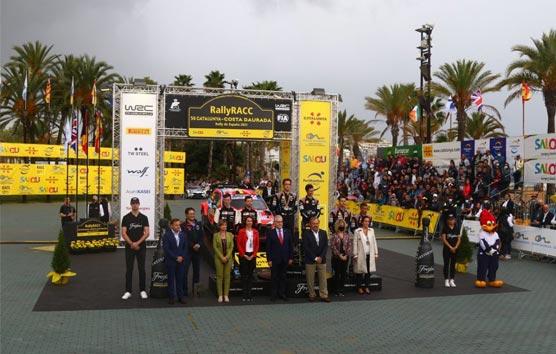 PortAventura cierra con éxito el 56º Rally RACC Catalunya-Costa Daurada