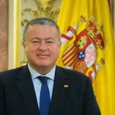 El senador del PP por la Región de Murcia, Francisco Bernabé.