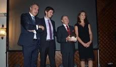 Acto de entrega de los premios.
