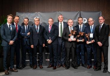 ISGlobal/Hospital Clínic, Everis ADS y Enaire, Premios GEBTA 2019