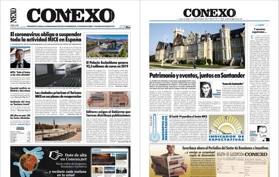 Lea la edición del mes de Abril del Periódico CONEXO en pdf