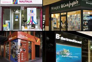 Las tiendas de Viajes El Corte Inglés generan el triple de ventas que sus competidores