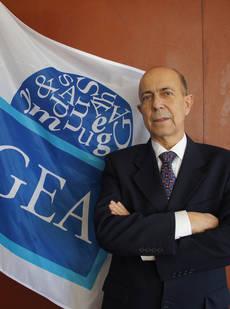 El presidente de Gea, Prisciliano Fernández.