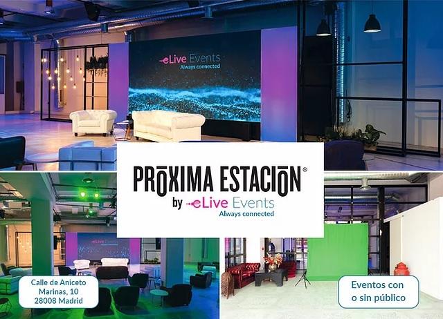 Próxima Estación by eLive Events, en el centro de Madrid