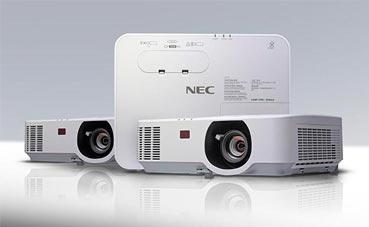 NEC presenta nuevos proyectores de salas de reunión