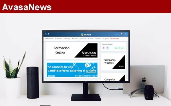 Avasa ofrece a sus agencias formación 'online' diaria