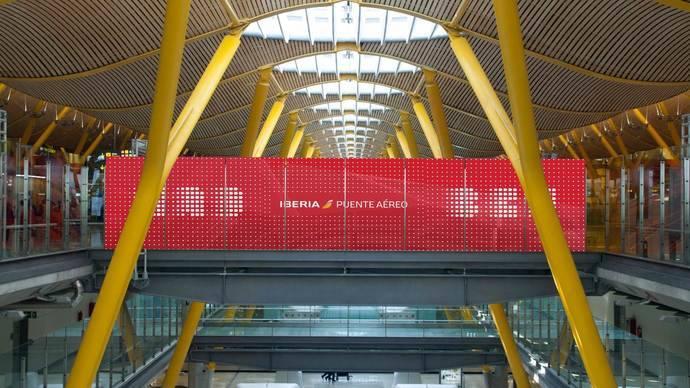 Satisfacción en Iberia con la acogida de su Puente Aéreo