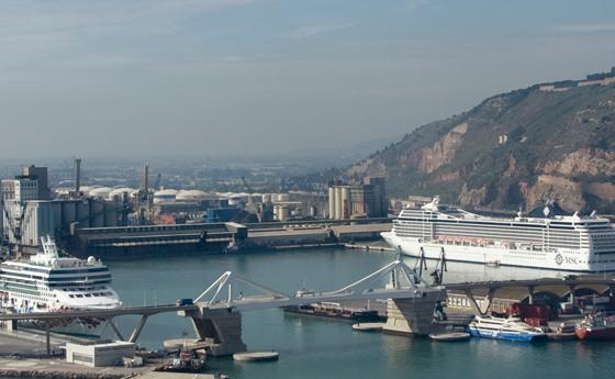 El sector cruceros crece un 45% en Barcelona