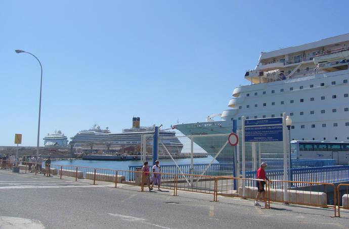 Málaga roza los 420.000 pasajeros de cruceros