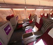 La Clase Business de Qatar Airways es reconocida nuevamente